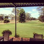 Deck at 18th Hole Loxton Golf Course